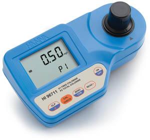 Fotométer a szabad és az összes klór méréséhez